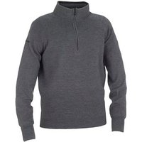 Galvin Green Charles 1/2 Zip Knitted Sweater Grey Melange