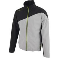 Aaron Gore-tex Stretch Jacket - Sharkskin/black Mens Small Grey
