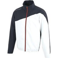 Aaron Gore-tex Stretch Jacket - White/navy Mens Small White
