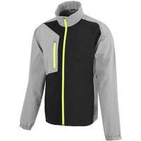 Andres Gore-tex Paclite Jacket - Sharkskin/black/lime Small Grey