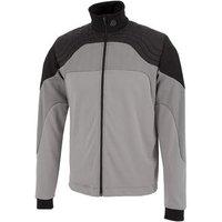 Don Insula Full Zip Jacket - Sharkskin/black Mens Small Grey