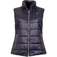 Green Lamb Jane Padded Gilet - Navy