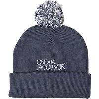 Oscar Jacobson Knitted Golf Hat II - Navy OSFA
