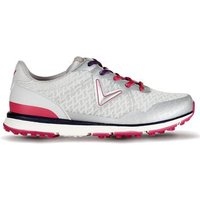 Callaway Ladies Solaire San Clemente Golf Shoes - Grey / Pink UK 5