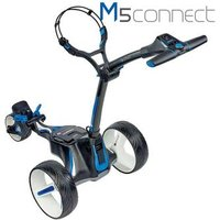 Motocaddy M5 Connect Black Electric Trolley 2019 - Extended Lithium