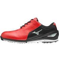 Mizuno Nextlite SL Golf Shoes - Red / Black UK 7 Standard