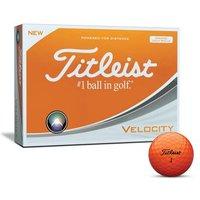 Titleist Velocity Orange 3-ball Sleeve