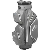 Powakaddy Dri Edition Cart Bag 2019 Gun MetalBlackSilver