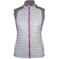 Therma Tour Ava Quilted Gilet Grey Ladies X Small Grey