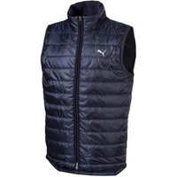 Boys Quilted Vest - Peacoat Junior Small Navy