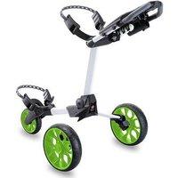 Stewart Golf R1-S Push Trolley - White / Green