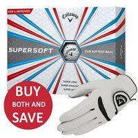 Callaway Supersoft Golf Balls and Weather Spann Glove Offer