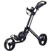 Powakaddy TwinLine 4 Lite Push Trolley - Black