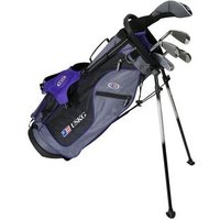 US Kids Purple Starter Golf Set 8 10 Years