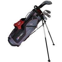 US Kids Burgundy Starter Golf Set 10 12 Years