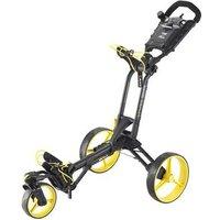 Big Max z360 Golf Push Trolley - Black/Yellow