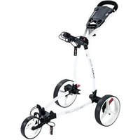 Big Max Blade+ Golf Push Trolley - White