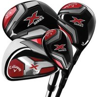 Callaway X-Series Ladies Package Set - 2018 - LRH Driver 3+5 Fairways - 4+5 Hybrid 5-SW Irons