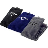 Callaway Golf Tri Fold Towel, Black