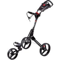 Cube Golf Push Trolley - Charcoal/Black (+Umbrella Holder & Travel Cover)