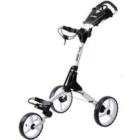 Cube Golf Push Trolley - White/White (+ Umbrella Holder and Travel Cover)