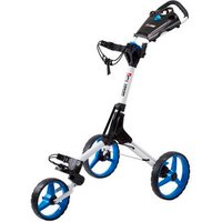 Cube Golf Push Trolley - White/Blue