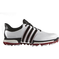 Adidas Tour 360 Boost Wide - White/Black/Red