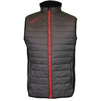 Proquip Therma Tour Full Zip Gilet Grey/Black/Red