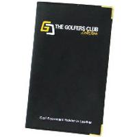 Golfers Club Leather Scorecard Holder