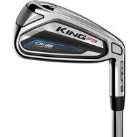 Golf King F9 Mens ONE Length Irons Graphite Mens Right Fujikura Atmos Blue ONE 6 Regular SW