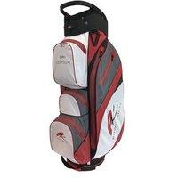 Powakaddy Dri Edition Cart Bag - White/Red/Slate