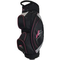 PowaKaddy Lite Cart Bag 2017 - Black/Silver/Fuchsia