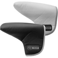 PRO-TEKT Leatherette Putter Head Cover - Black