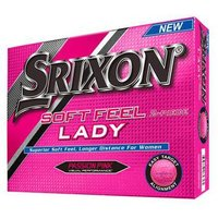 Srixon Ladies Soft Feel Pure Passion Pink Golf Balls 1 Dozen