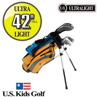 US Kids Yellow Starter Golf Set 4 6 Years