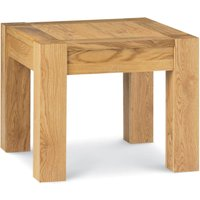 Lyon Square Oak Lamp Table