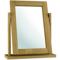Atlanta Oak Dressing Table Mirror