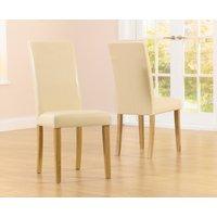 Albany Cream Chairs  Pair