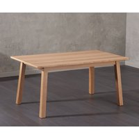 Agata 160cm Oak Dining Table