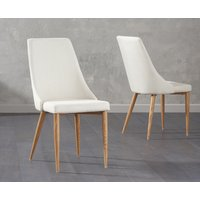 Ashbourne Cream Fabric Dining Chair
