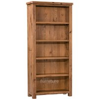Huari Solid Oak Large Bookcase