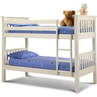 Basel Stone White Bunk Bed