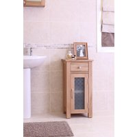 Mobel Solid Oak Small Bathroom Unit