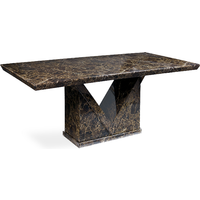 Maretto 160cm Marble Effect Dining Table