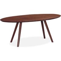 Valencia 180cm Walnut Oval Dining Table