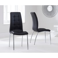 Calgary Black Chairs  Pair
