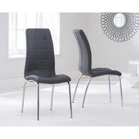 Calgary Charcoal Grey Chairs  Pair