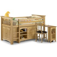 Basel Solid Pine Sleep Station with Storage