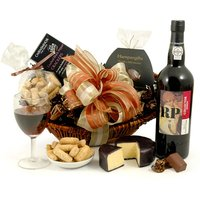 Cheese & Port Choice Hamper