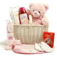 New Baby Girl  Basket - Baby Hampers